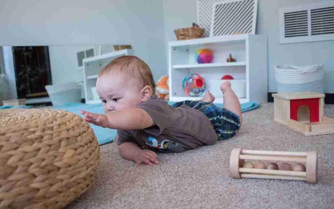 baby and toddler developmental movement workshop