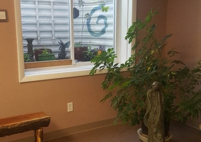 office area | holistic health center | peoria | illinois