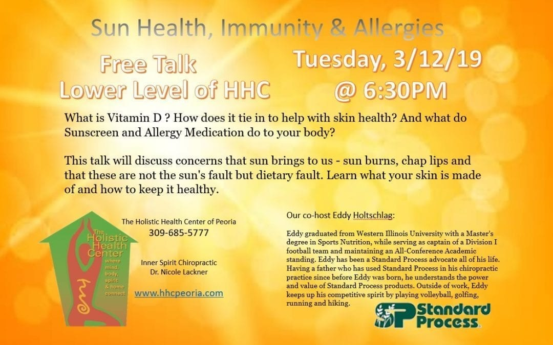 Sun Health, Immunity, and Allergies